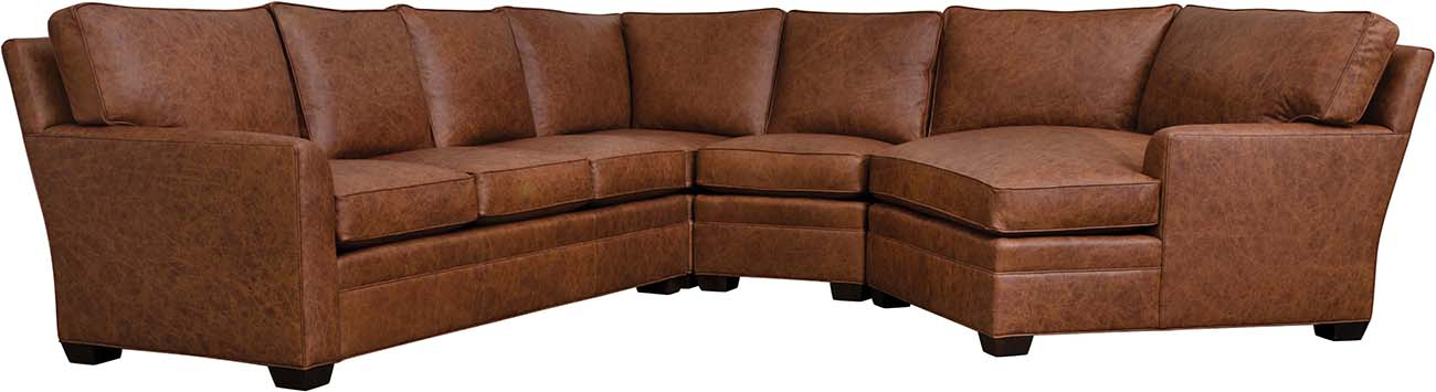 7000 Series Selectionals Leather